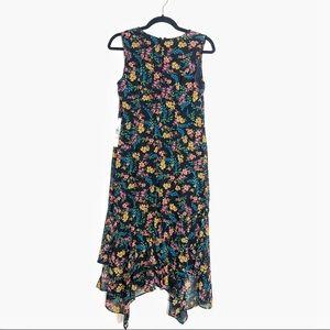 Calvin Klein dress floral beautiful size 4 NEW